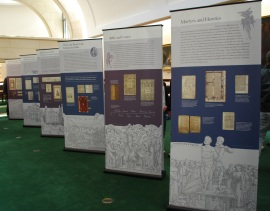 Folger debut of the Manifold Greatness traveling exhibition, Lloyd Wolf