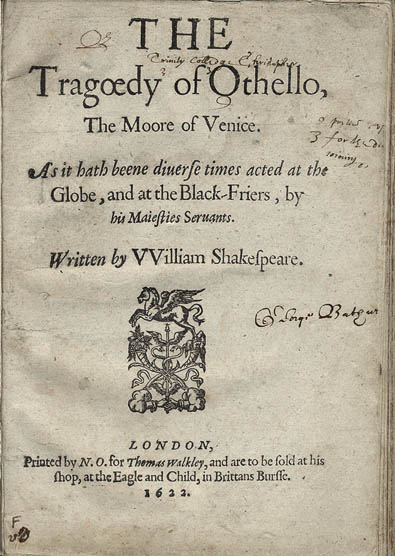 Is Othello a tragedy?