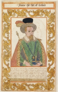 James I (as James VI of Scotland). Trevelyon Miscellany. 1608. Folger.