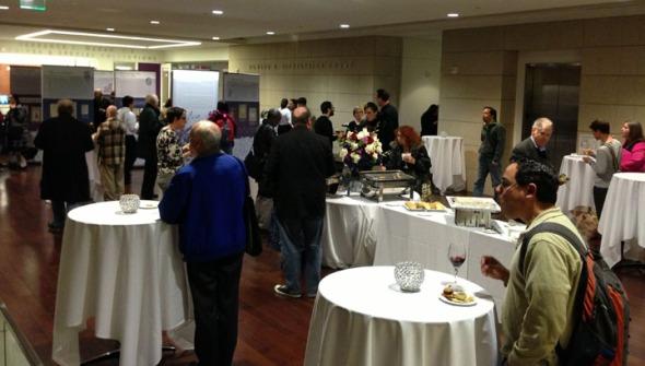 Opening reception for Manifold Greatness at Loyola Marymount University. Photo courtesy Loyola Marymount University.