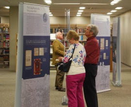 Members of the Tuscaloosa community view the Manifold Greatness exhibit in Tuscaloosa, Alabama. Photo Vince Bellofatto