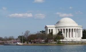 Jefferson Memorial. April 8, 2013.
