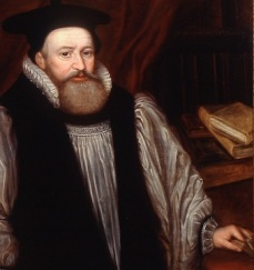 George Abbot, a King James Bible translator (detail). (c) University College, Oxford.