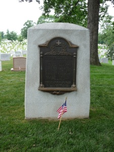 World War I chaplains memorial, Chaplains Hill, Arlington Cemetery. Esther Ferington, 2013.