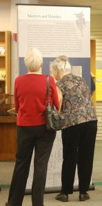 Manifold Greatness visitors, Kellenberger Library, Northwest Christian University, Eugene, Oregon