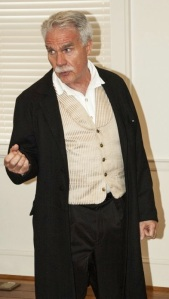 Mike Brown as Junius Booth