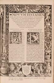 Erasmus. Novum Testamentum. 1519. Corpus Christi College, Oxford.